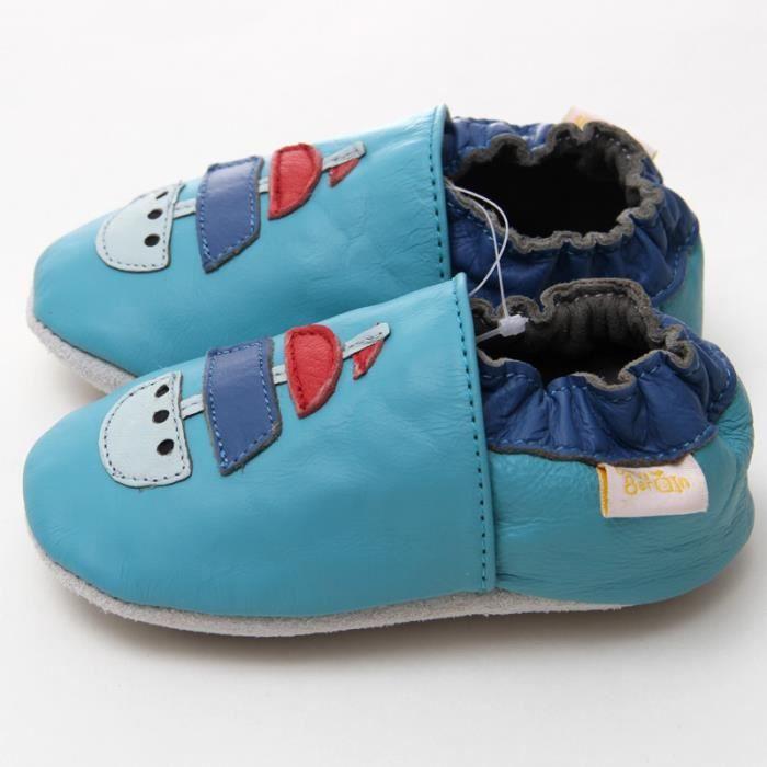 Dessin animé bébé nouveau-né chaussures filles bébé mocassins garçon Slipper chaussures