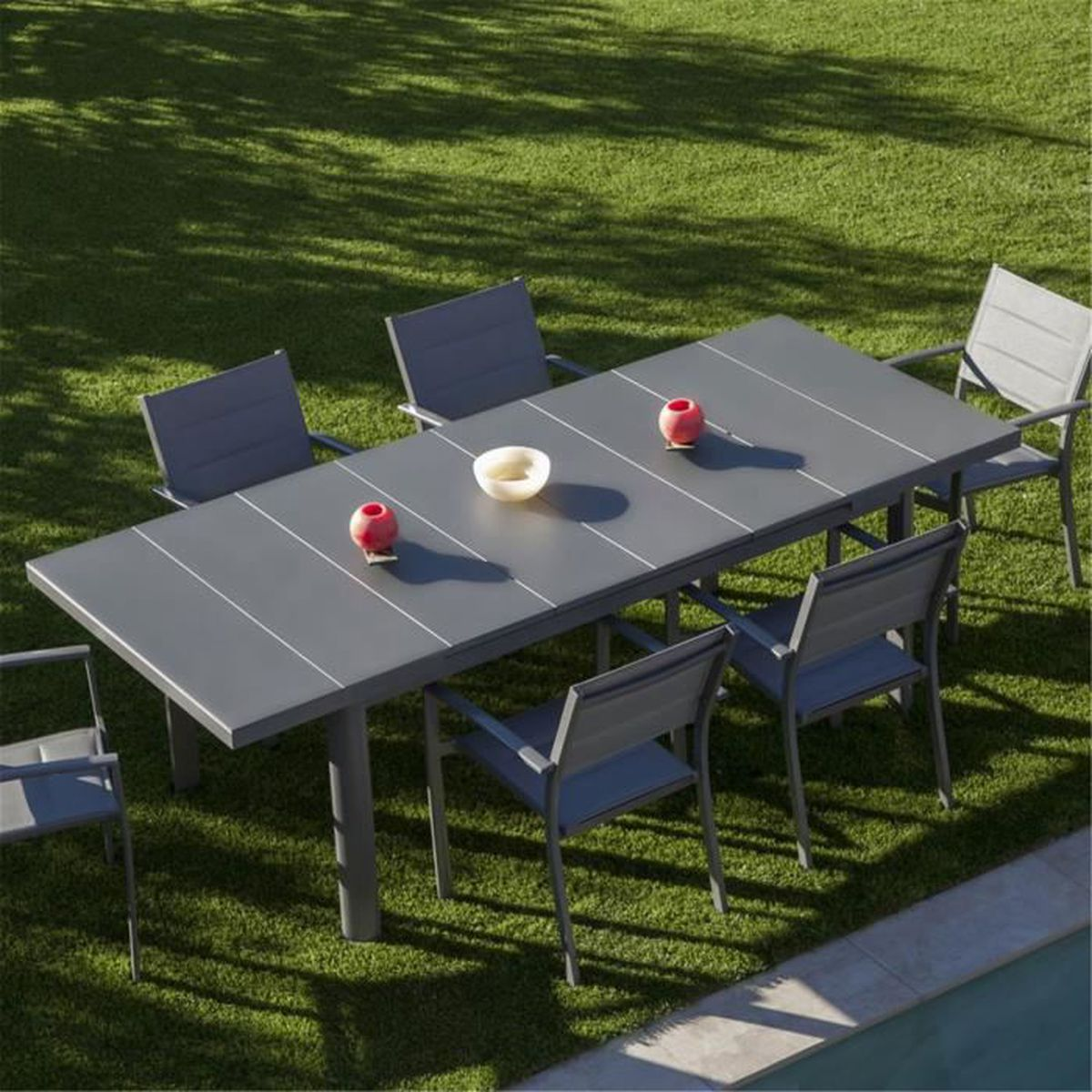 Awesome Table De Jardin Honfleur Aluminium Pictures. Stunning Table ...