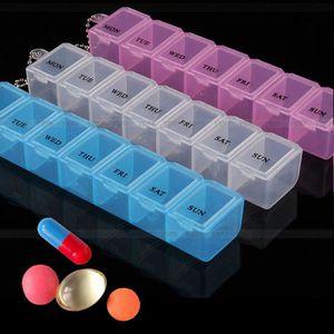 PILULIER 1pc* pilulier semaine boîte a pilules medicaments