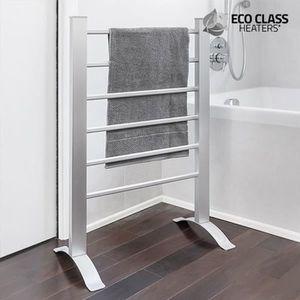 SÈCHE-SERVIETTE ÉLECT Porte-serviettes séchoir électrique - sur pieds ou