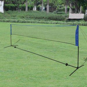 FILET DE BADMINTON Filet de badminton avec volants 500 x 155 cm