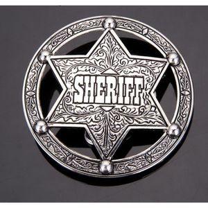 72439a7d4f68 CEINTURE ET BOUCLE Boucle de ceinture sheriff , USA , Cow boy , etoil
