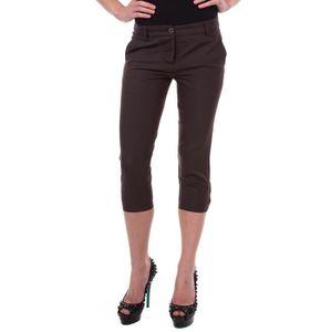 CEINTURE ET BOUCLE 3 4 pantalon brun fonce de La Martina Hommes LMH46 ... bf77a831fe6