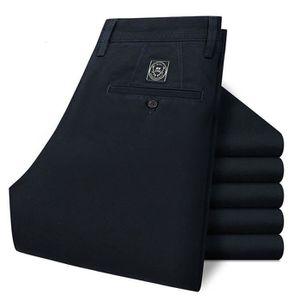 PANTALON Pantalon Chino Droit en Coton Pour Homme 7 Coul...