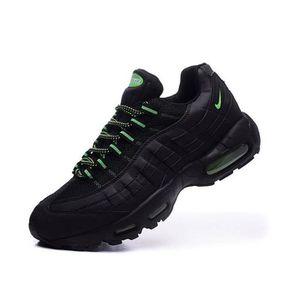 photos officielles 06ee5 1cee9 Nike Air Max 95 OGQS Homme Running Basket Chaussure Noir et ...