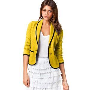 03e4f78705044 VESTE Femmes Office Lady Manteau Costume Blazer manches