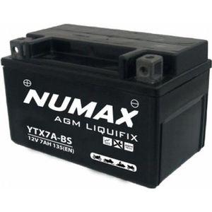BATTERIE VÉHICULE Batterie moto Numax Premium AGM avec pack acide YT