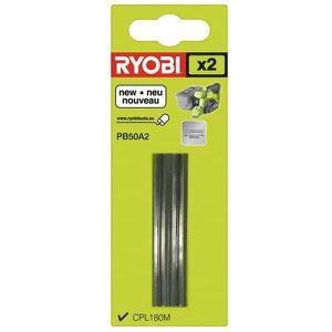 RABOTEUSE Lames de rabot 50mm par 2 pour Rabot Ryobi - 36653