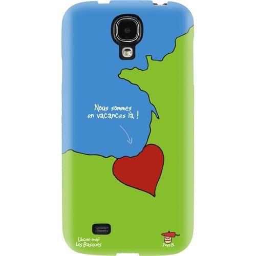 HIHIHI Coque rigide Vacances basques - Pour Samsung Galaxy S4 I9500
