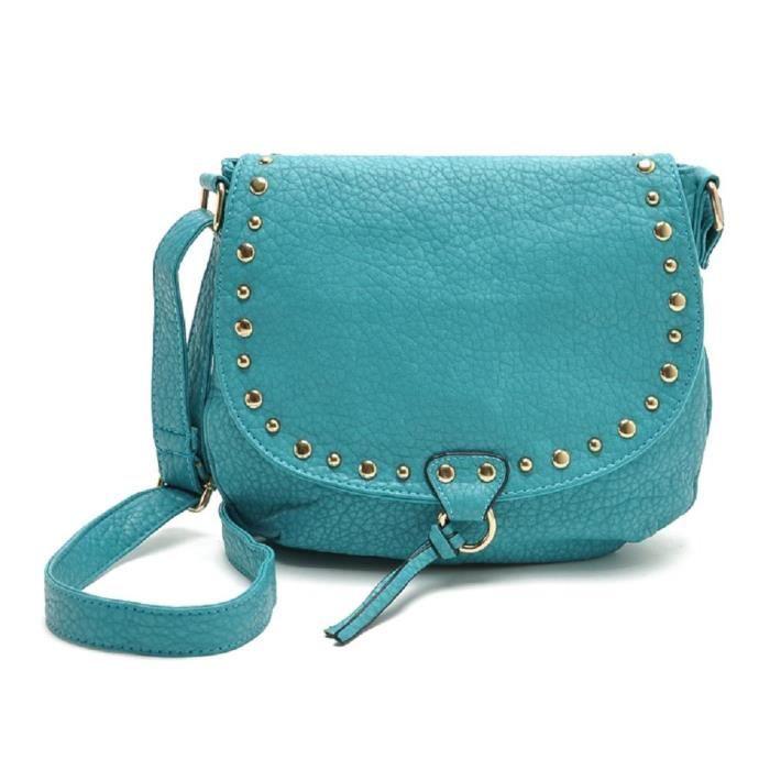 Craze élégant satin plissé dur strass embrayage top sac du soir - couleurs diff TMUUV