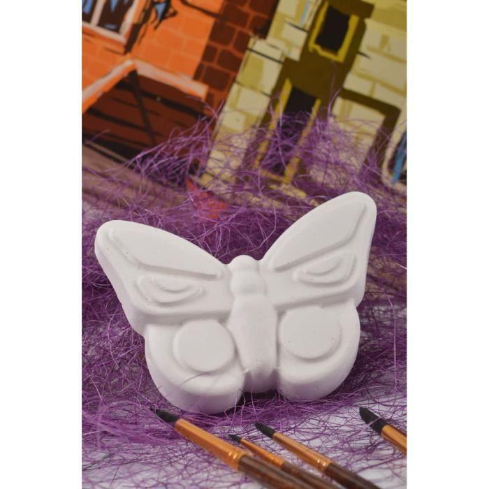 Figurine En Platre A Peindre Faite Main Papillon Loisirs Crйatifs