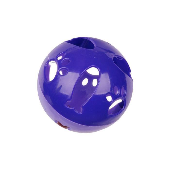 Jouet Pour Chat - Balle Sonore Violet