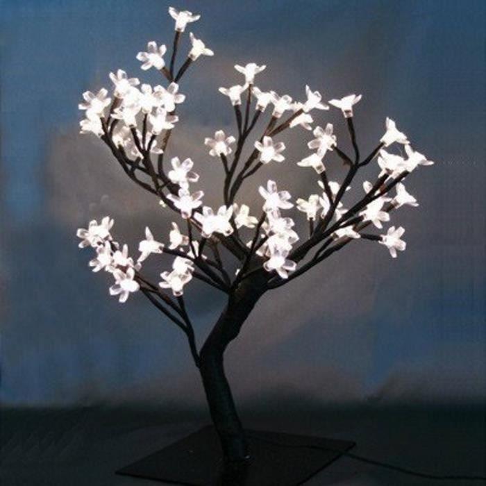 Lampe arbre 48 led eclairage d coration cadeau lumiere achat vente lampe arbre 48 led - Arbre deco interieur ...