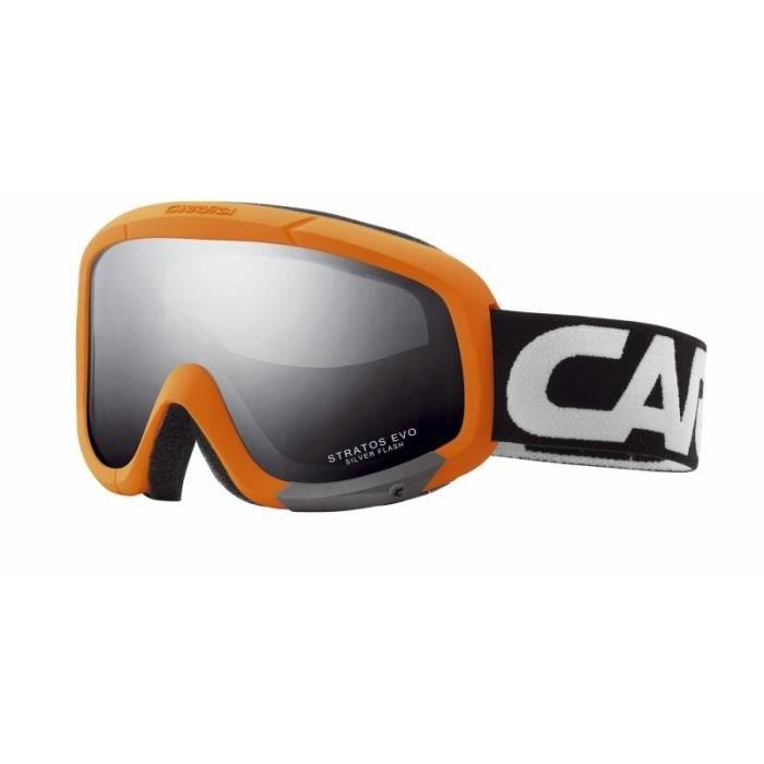 Masque de Ski Carrera Stratos Evo orange - Prix pas cher - Cdiscount 025e494af899