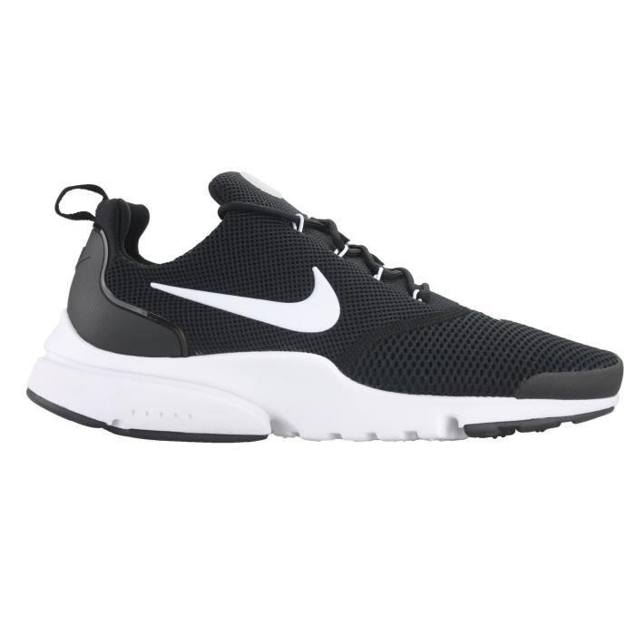 Nike New Presto Fly Courir Sneaker GSKJ9 Noir Noir - Achat / Vente basket  - Soldes* dès le 27 juin ! Cdiscount