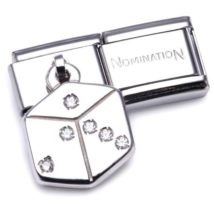 Nomination 031710-05 - Maillon Pour Bracelet Composable Femme - Acier Inoxydable D52U0