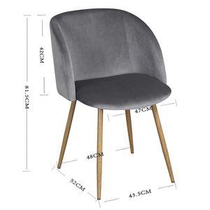 Chaise de bureau scandinave achat vente chaise de for Chaise zons