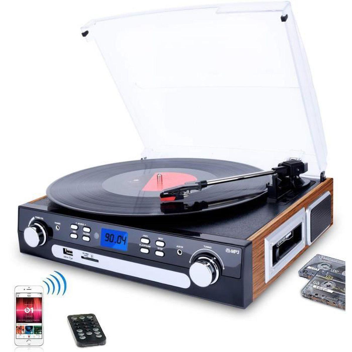 platine vinyle 33 et 45 tr min - achat / vente pas cher