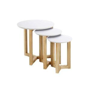 table basse salon ronde achat vente table basse salon ronde pas cher soldes d s le 10. Black Bedroom Furniture Sets. Home Design Ideas