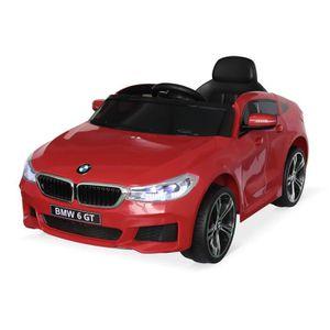 VOITURE ELECTRIQUE ENFANT BMW Série 6 GT Gran Turismo rouge, voiture électri