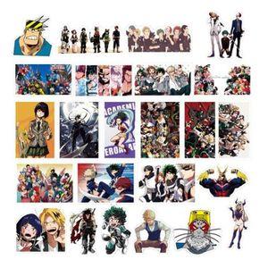 GOMMETTE 100 Pcs Anime 2018 Mon Héros Académie Des Autocoll