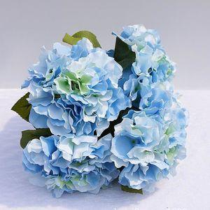 FLEUR ARTIFICIELLE artificielle fausse soie 5 têtes bouquet de fleurs