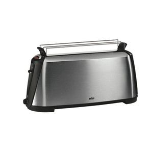 GRILLE-PAIN - TOASTER BRAUN HT600 Grille-pain Sommelier - Inox