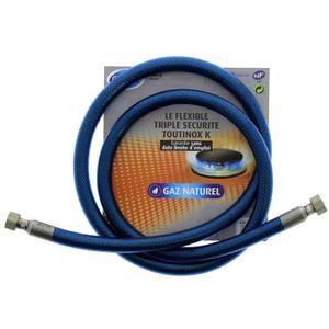 PIÈCE APPAREIL CUISSON Tuyau flexible pour gaz naturel triple sécurité Vi
