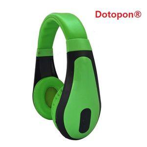 CASQUE - ÉCOUTEURS Dotopon®(vert)Smart Consumer Electronics Communéme