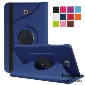 HOUSSE TABLETTE TACTILE RongLe®  Housse Samsung Galaxy Tab A6 7.0-360 Rota