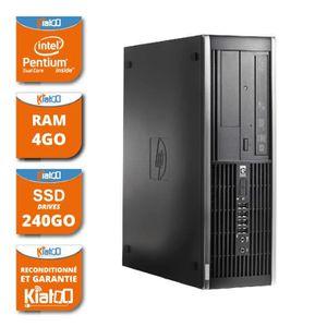 UNITÉ CENTRALE  ordinateur de bureau HP elite 6000 dual core 4 go