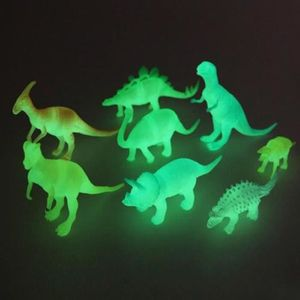 POUPON  8 pièces / set Enfant Jouet Noctilucent Dinosaure