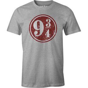 T-SHIRT T-shirt Adulte Harry Potter - Gris