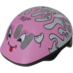 CASQUE MOTO SCOOTER Casque Curly Rose Enfants (52-57 cm) 1OZVNF Taille