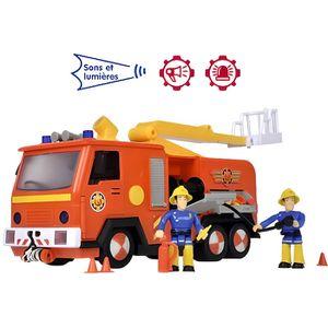 FIGURINE - PERSONNAGE SLP Sam camion pompier jupiter avec une figurine