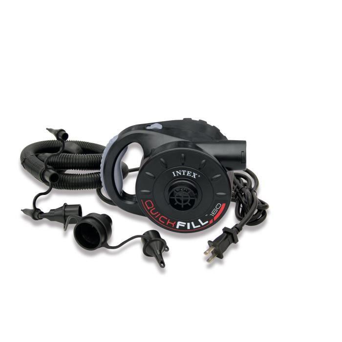 INTEX Gonfleur Electrique 220-240 Volts Poignee Ergonomique