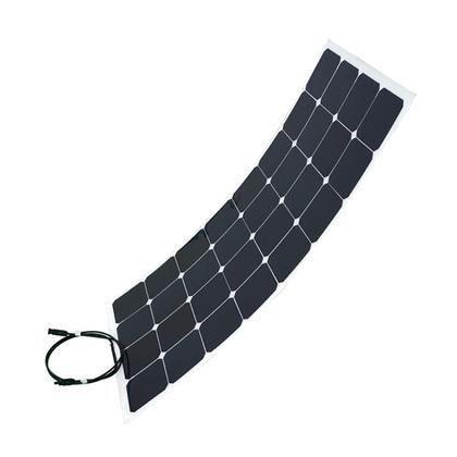 panneau solaire flexible 100w 12v back contact - achat / vente kit