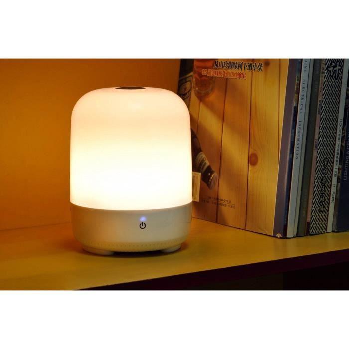 Lampe De Chevet Tactile A Batterie Integree P1zyw61103002 666