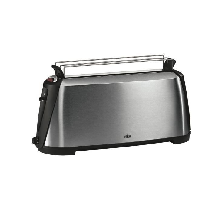 BRAUN HT600 Grille-pain Sommelier - Inox - Achat / Vente grille ...