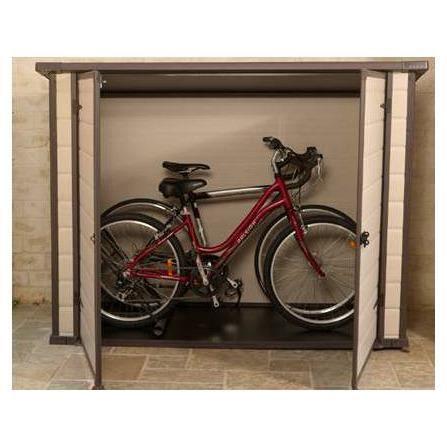 Abri À Vélo Pvc - 1,4 M² - 2.01 X 0.91 X 1.50 M - Achat / Vente