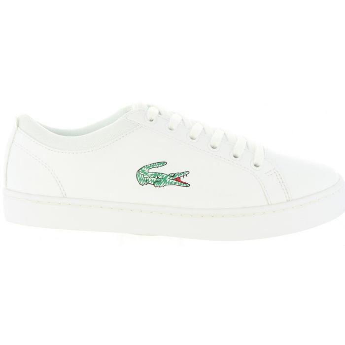 75bbf6e5f64 Chaussures de sport pour Femme LACOSTE 35CAJ0024 STRAIGHTSET 21G WHT ...