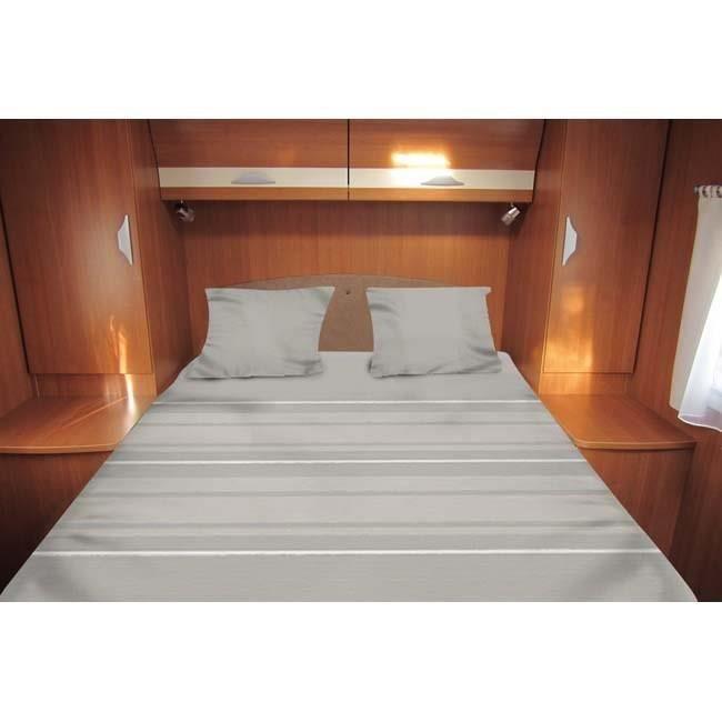 linge de lit tout en un MIDLAND Lit Tout Fait Density 140x210 cm   Linge de lit camping  linge de lit tout en un