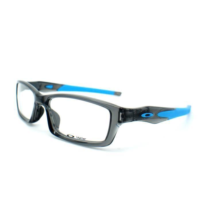 Lunettes de vue pour homme OAKLEY Gris OX 8027-12 CROSSLINK 53 17 ... 0518344ce78f