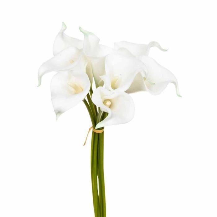 Paris prix bouquet de fleurs 8 aromes 36cm blanc for Prix bouquet de fleurs