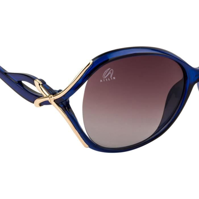 Premium Ultra Light Over-sized Sunglasses For (multiple Color Variants) (size : 62 Mm) (as-9008-80-p QE7JZ