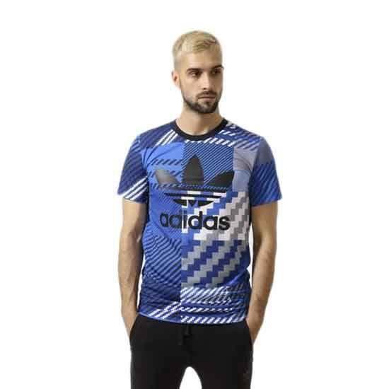 T shirts Adidas Originals Es Trefoil Tee Multicoloured