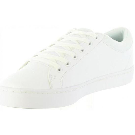 238bebf325f Chaussures de sport pour Femme LACOSTE 35CAJ0024 STRAIGHTSET 21G WHT Blanc  Blanc - Achat   Vente basket - Cdiscount