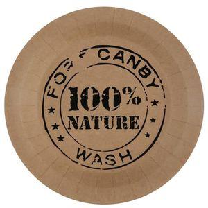 ASSIETTE JETABLE SANTEX Assiette 100 % Nature