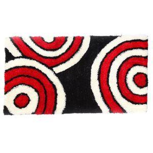 Tapis shaggy noir et blanc achat vente tapis shaggy noir et blanc pas cher cdiscount - Tapis shaggy noir et blanc ...