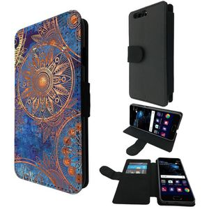 COQUE - BUMPER cELLBELL Huawei P10 Style Purse Wallet Pouch porte